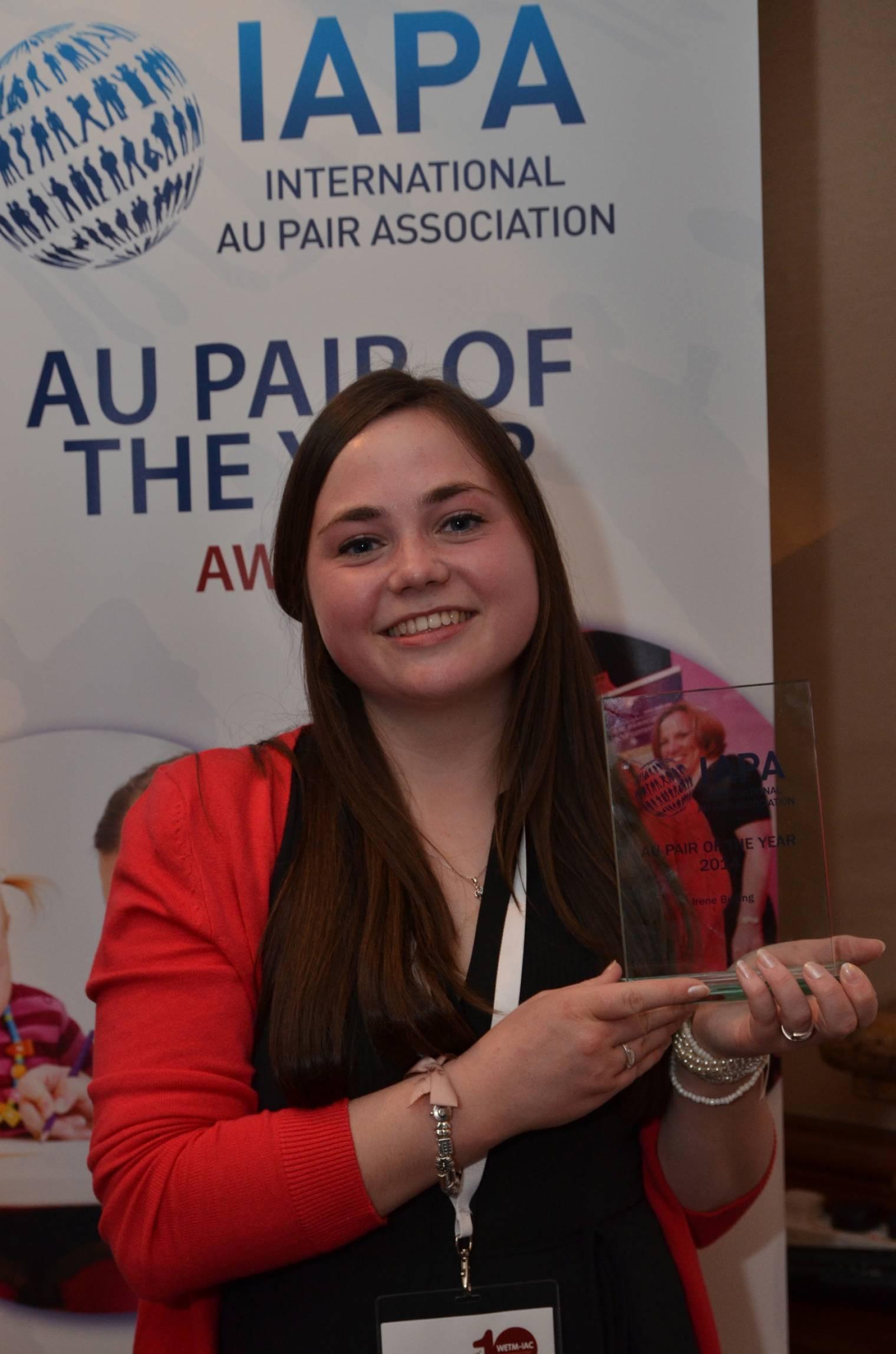 Au Pair of the Year 2014 named as WETM-IAC 2014 gets underway in London
