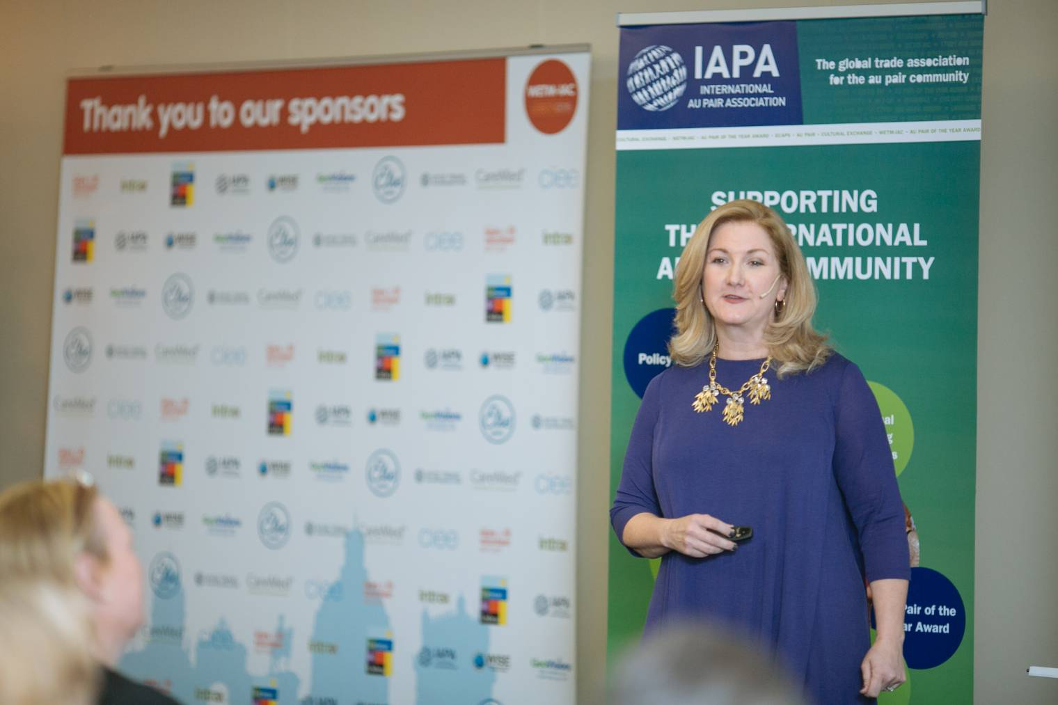 Online community manager 'AuPairMom' shares her unique insight with WETM-IAC 2015 delegates