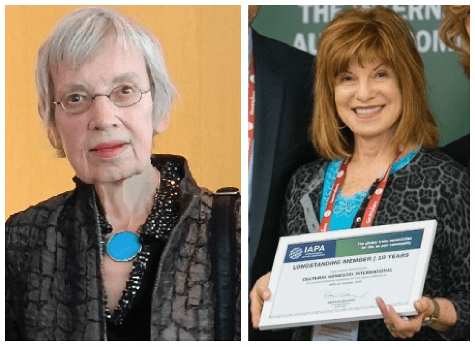 Remembering Uta Christianson and Jackie Sant-Myerhoff