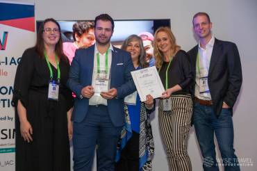 Martin Toth from Hungary wins IAPA Au Pair of the Year Award 2018