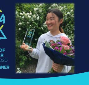 Wandi Zhu from China is IAPA Au Pair of the Year 2020