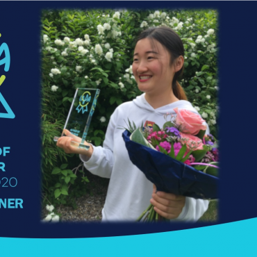 Wandi Zhu from China is IAPA Au Pair of the Year 2020
