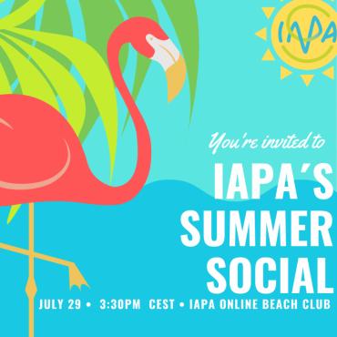 IAPA Member Event – IAPA´s Summer Social, 29 July 2021