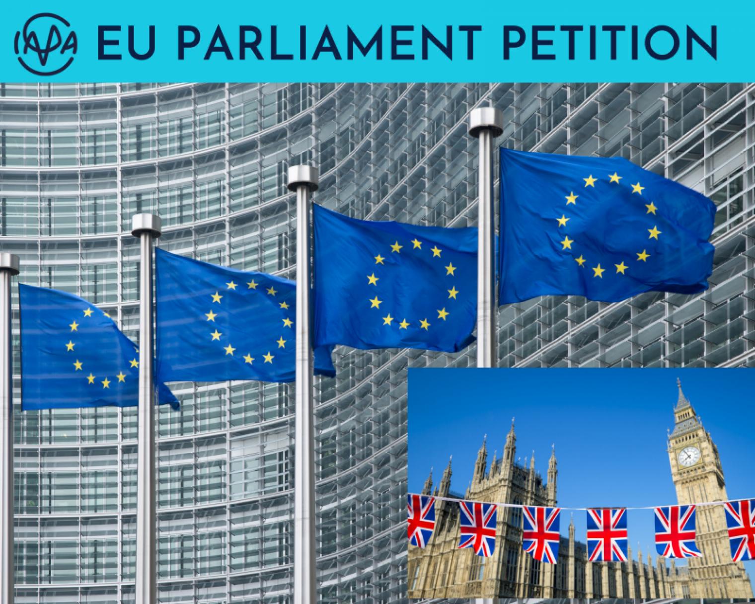 IAPA files a petition with the EU Parliament