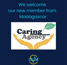 Welcome to our first affiliate member from Madagascar: CaringAgency